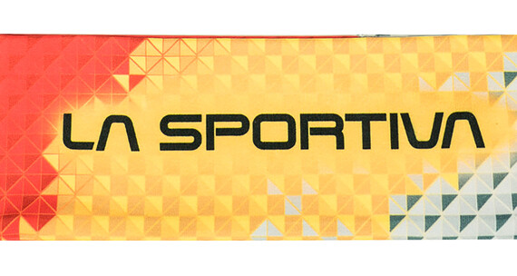 La Sportiva Race Headband Men Yellow/White